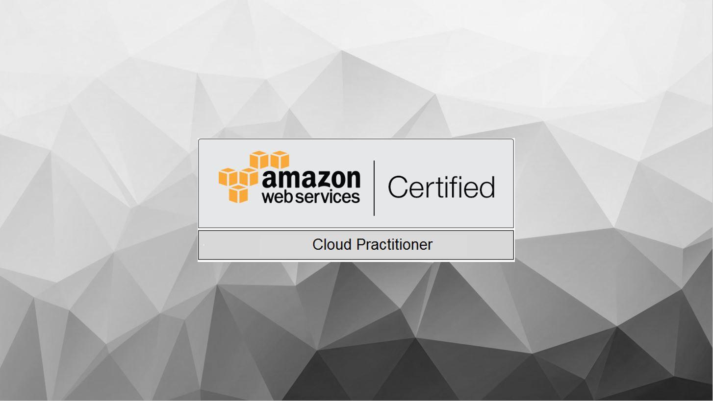 AWS Certified Cloud Practitioner CLF-C01 Exam Logo