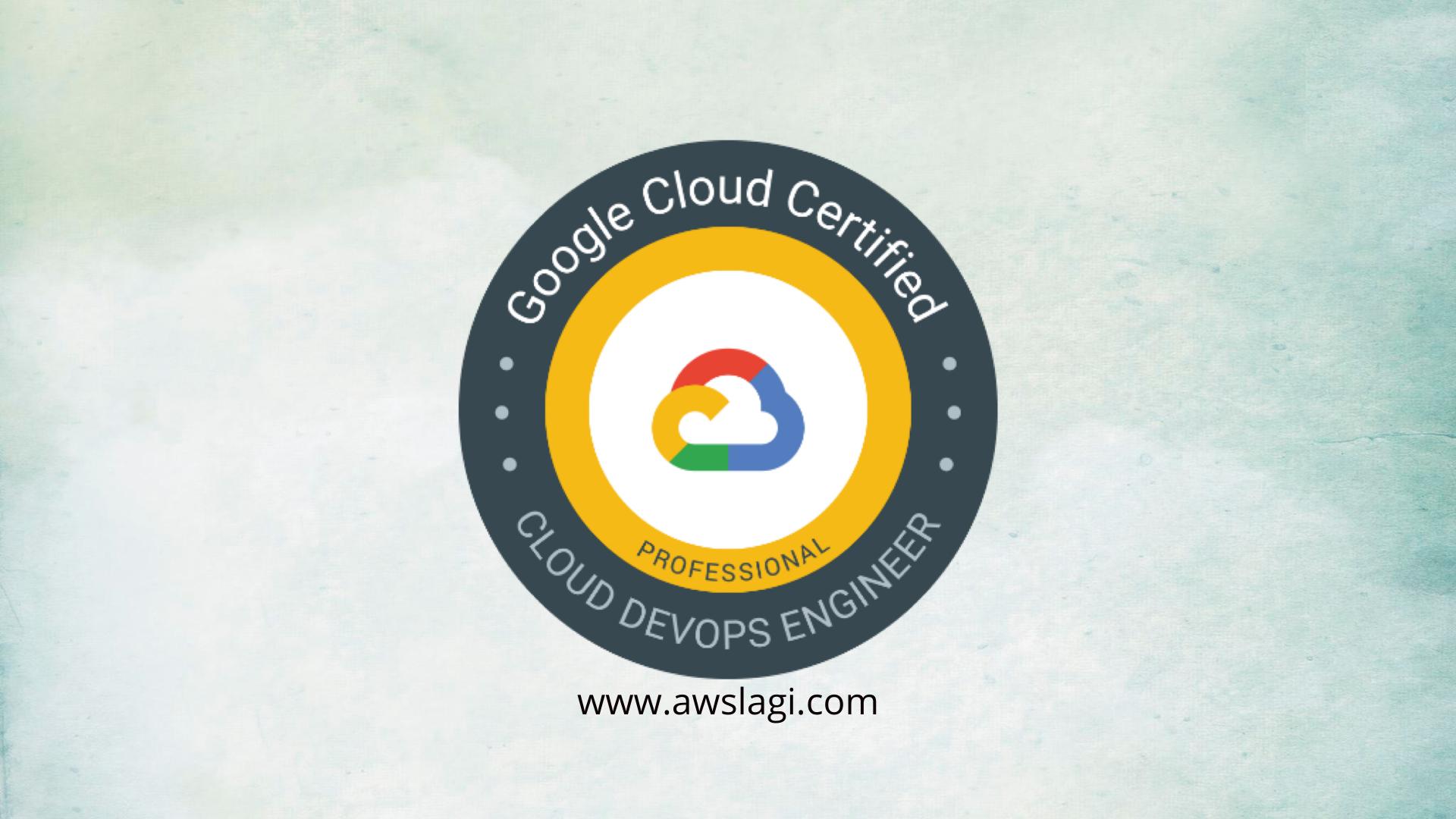Google Professional DevOps Engineer Exam Logo