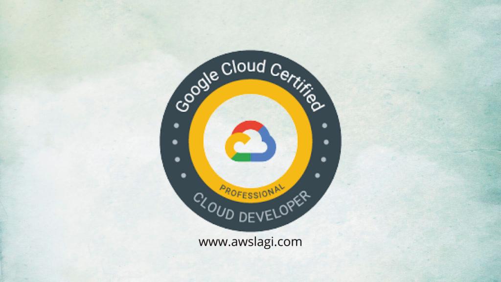 Google Professional Cloud Developer Exam Logo