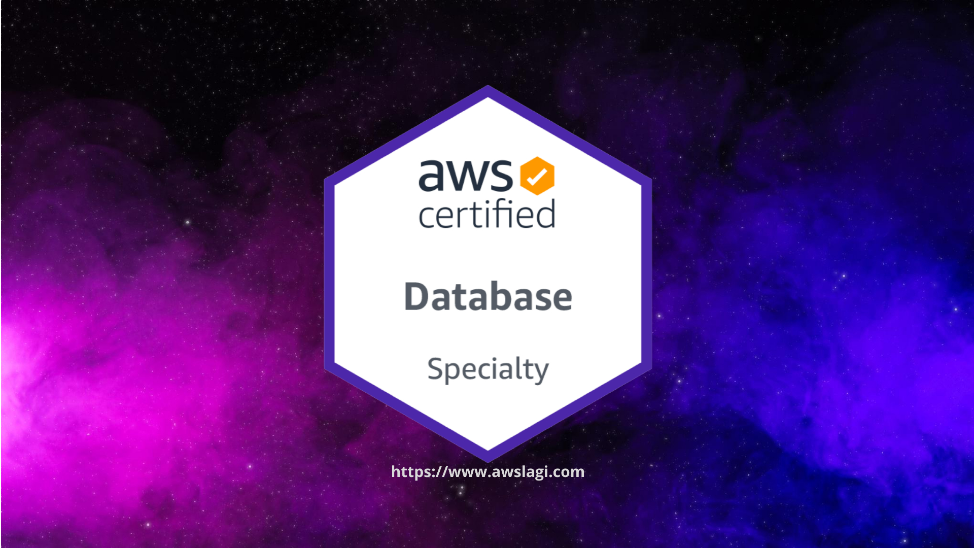 AWS Certified Database Specialty DBS-C01 Actual Exam Logo