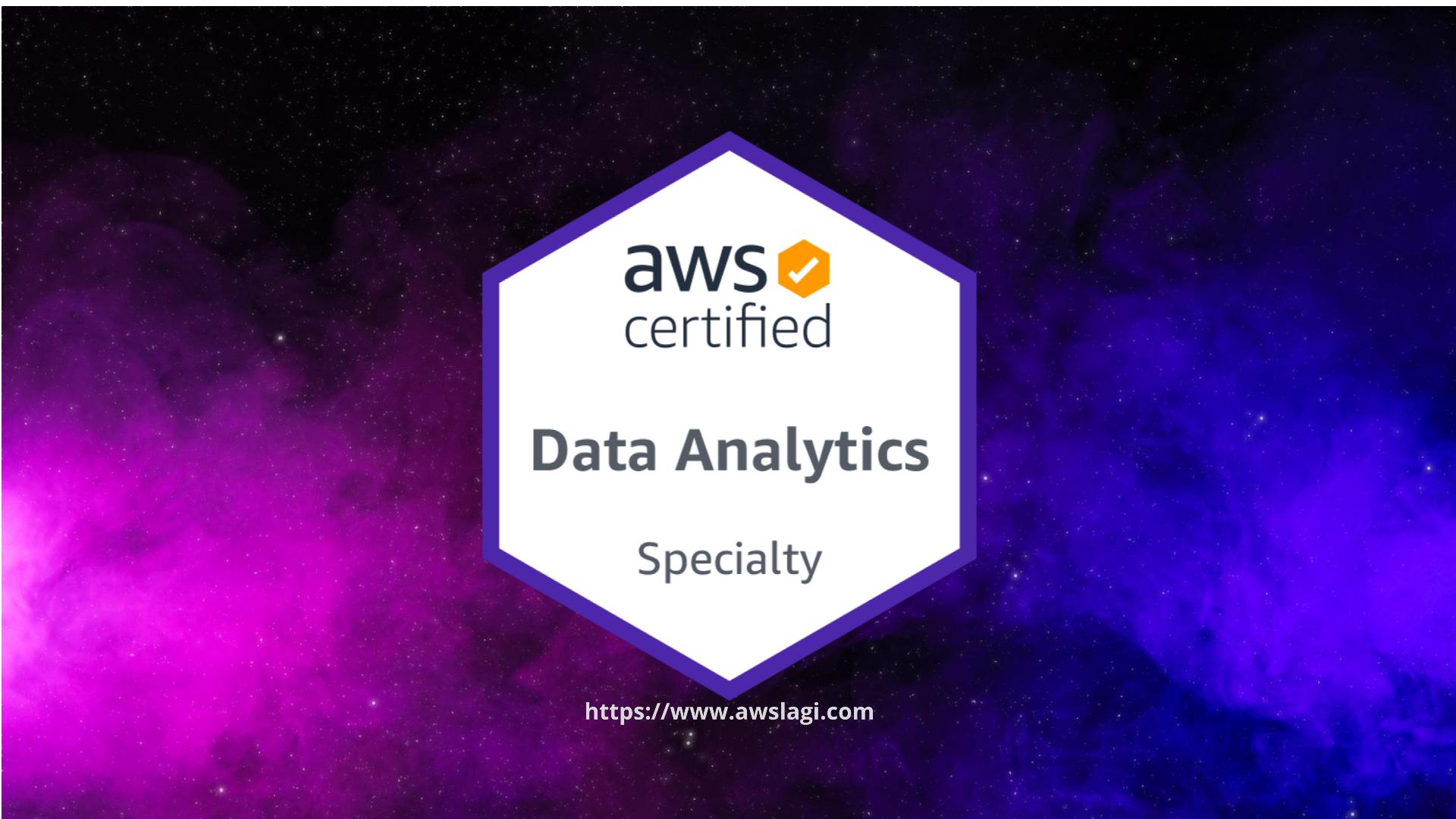 AWS Certified Data Analytics Specialty DAS-C01 Actual Exam Logo