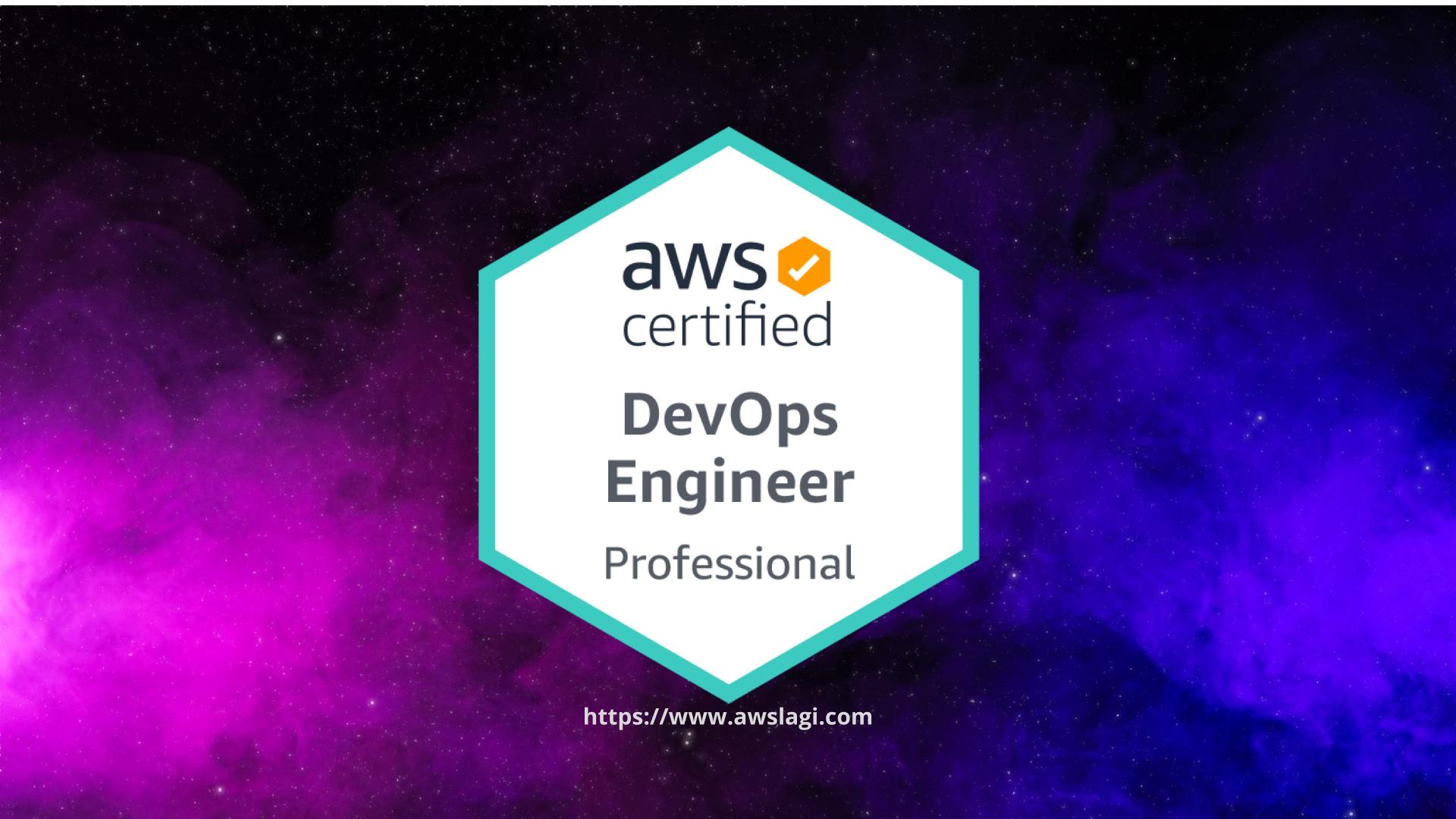 AWS Certified DevOps Engineer Professional DOP-C01 Actual Exam Logo