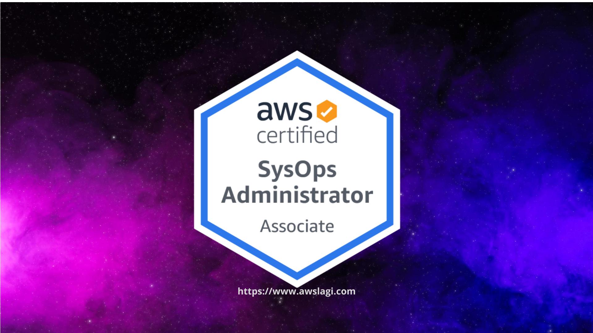AWS Certified SysOps Administrator Associate SOA-C02 Actual Exam Logo