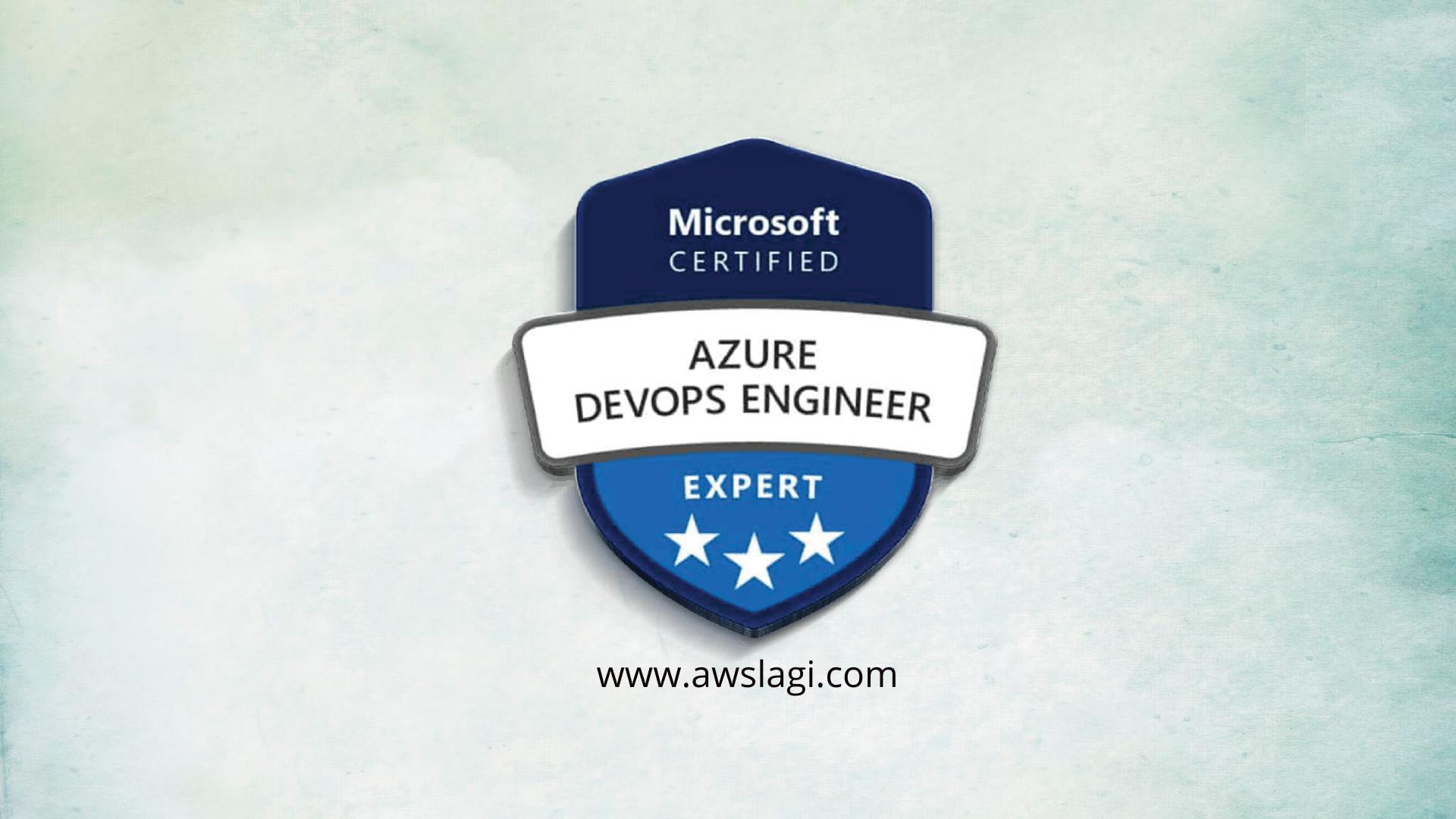 Microsoft Azure Certified DevOps Engineer AZ-400 Actual Exam