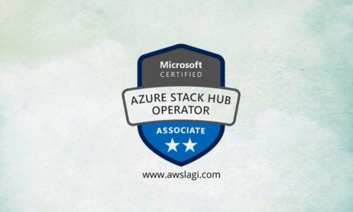 Microsoft Azure Certified Stack Hub Operator AZ-600 Actual Exam